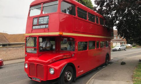 WWL Routemaster ride for ex-bus driver John