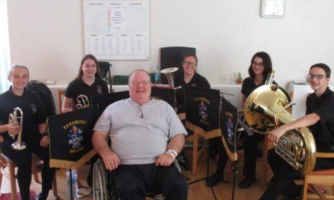Brass Band Visits #wishingwashingline