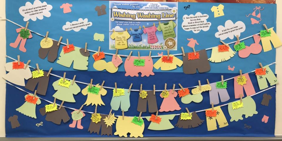 wishing washing line image